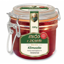 Miód wspierający prawidłowe trawienie 300 g Zioła Ojca Klimuszko