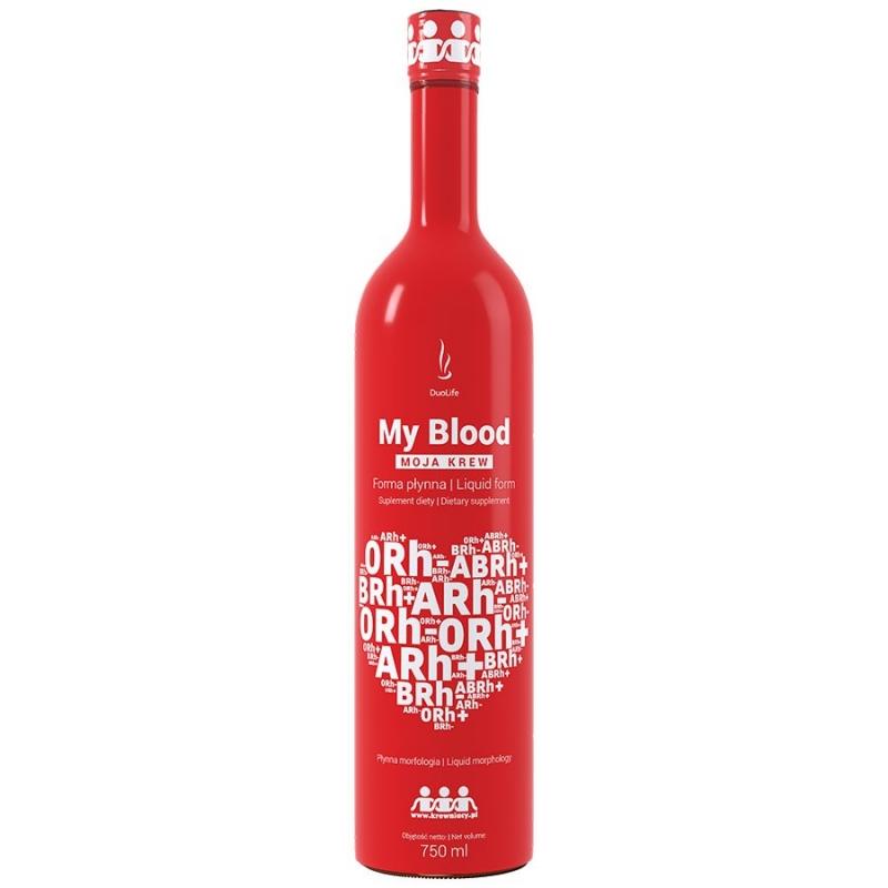 DuoLife My Blood Moja Krew 750 ml 30dni
