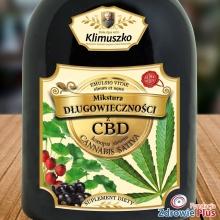 Mikstura długowieczności z CBD 750 ml Zioła Ojca Klimuszko
