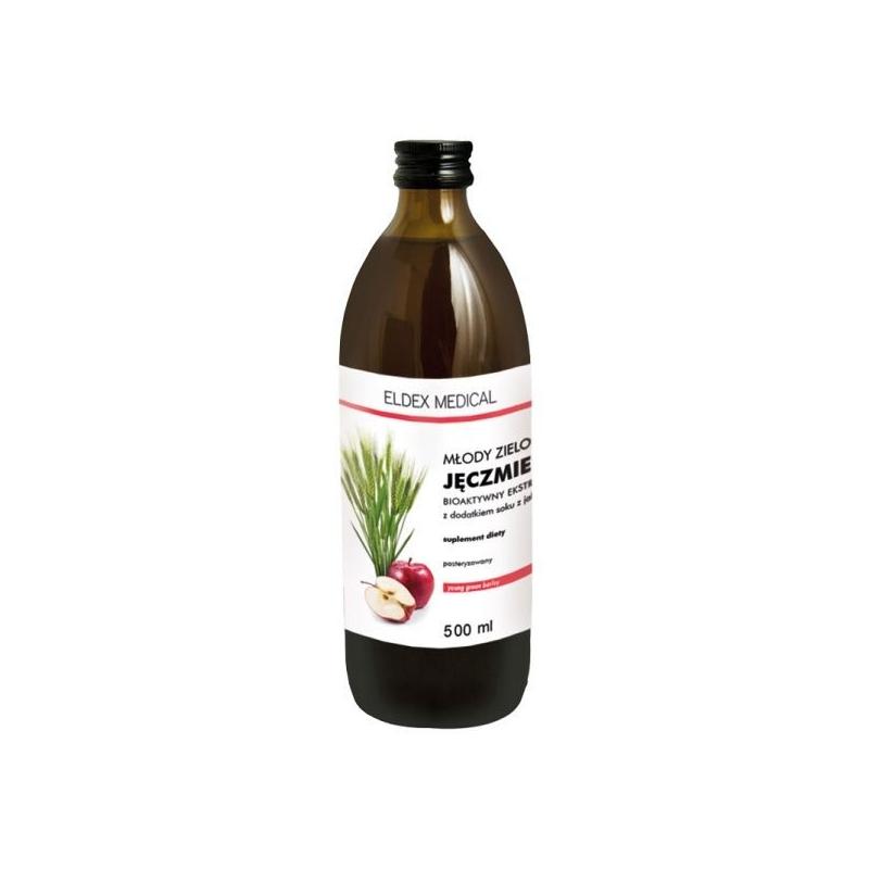 Młody Zielony Jęczmień, napój bioaktywny 500 ml